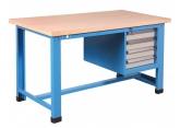 Stół z szafką czteroszufladową PROVOST
