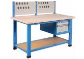 Stół + poziom dolny+ blok 2 szuflad + wspornik na narzędzia PROVOST