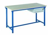 Lekki stół warsztatowy z pojedynczą szufladą H100 PROVOST