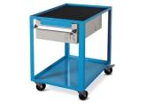 Wózek warsztatowy przenośny dwupoziomowy z szufladą H150 PROVOST