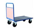Wózek platformowy PROMAX z 1 burtą drewnianą