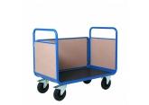 Wózek platformowy PROMAX  3 burty drewniane PROVOST