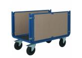 Wózek platformowy PROMAX 2 burty drewniane PROVOST