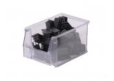 Plastykowe pojemniki SYSTEMBOX Przezroczyste L.230 x l.150 x H.130 PROVOST