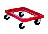 Podstawa  ruchoma z czerwonego ABS  600 x 400 PROVOST