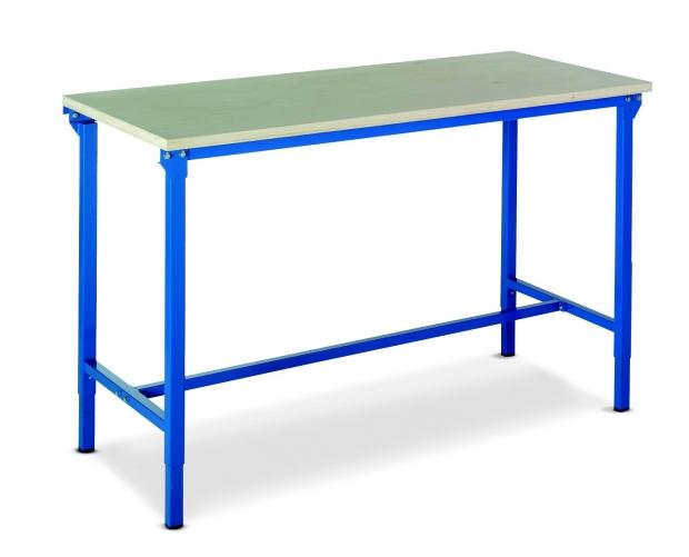 Lekki stół warsztatowy z regulowaną wysokością PROVOST