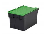 Pojemnik plastykowe zamykany sztaplowany 600x400x400 PROVOST