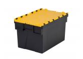 Pojemnik plastykowe zamykany sztaplowany  600x400x365 PROVOST