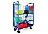 Wózek platformowy PROMAX  z regulacją poziomów(półki siatkowe) PROVOST