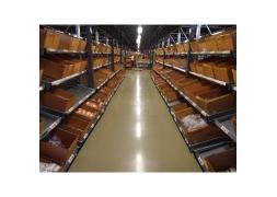 Przepływowe regały półkowe typu Carton Live Storage PROVOST