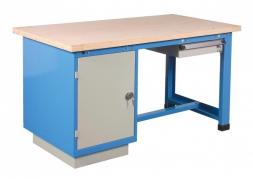 Stół warsztatowy 1500 kg z szufladą i z drzwiami PROVOST
