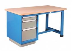 Stół warsztatowy 1500 kg 3 szuflady PROVOST