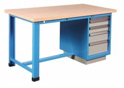 stół warsztatowy 1500 kg 5 szufladowy PROVOST