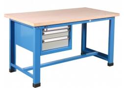 Stół warsztatowy 1000  kg + blok 3 szuflad PROVOST