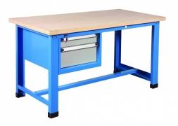 Stół warsztatowy 1000 kg + blok 2 szuflad PROVOST