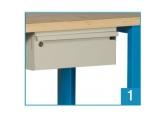 Bloki szufladowe - Stół warsztatowy 800 kg PROVOST