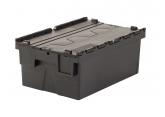 Pojemnik plastykowe zamykany sztaplowany  600x400x250 PROVOST