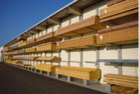 Regaly wspornikowe do skladowania drewna PROVOST